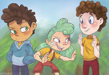 Welcome to Camp Camp by atomiccadet