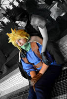 Zack Cloud 'I'll be your guide' by Hirako-f-w