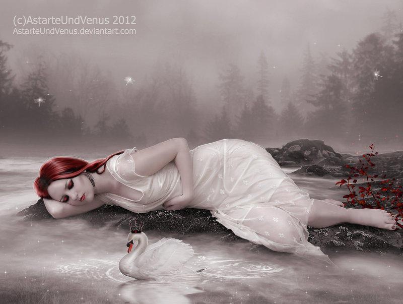 the lake of dreams by DenysDigitalArtwork