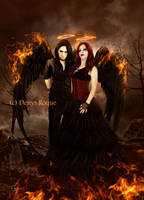 The Fire Angels by DenysDigitalArtwork