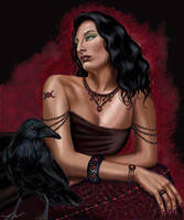 Morgan Le Fay by gothika248
