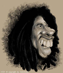 Bob Marley - The legend by manohead