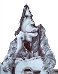 Neil Young by manohead