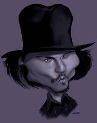 Johnny Depp by manohead