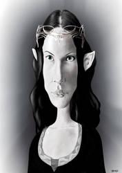 Arwen - Liv Tyler by manohead