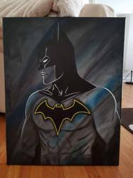 Batman acrylic  by TheJennaBrown