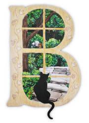 Illuminated Letter by bcarroll