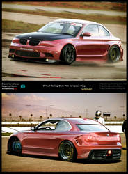 Bmw 1 series. Double chop by braver-art
