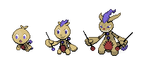 Vooma, Knitch, Vooduke Sprites by peteToaDDy