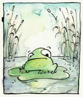 frog by keksfish