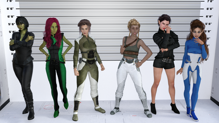 The Rogues Gallery by Scooternjng