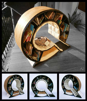 Q - Bookshelf Chair by NatasaTW