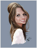 Stana Katic by RToledoMrSnOw