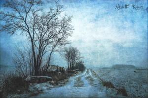 a dream in blue by Nikoletta-Kolozs
