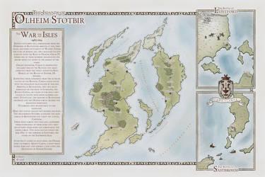 The War of Olheim Stotbir by Tangaboa