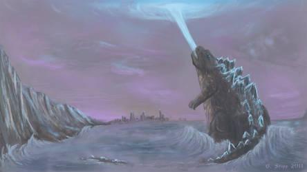 Godzilla Speed Paint by Tangaboa