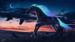 Chasing the Night by Lunameyza