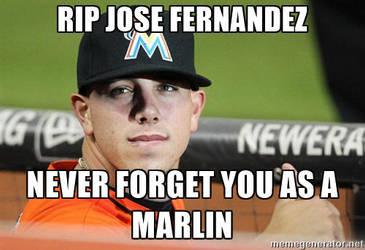 RIP Jose Fernandez (1992-2016) by sfgiants58