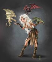Daenerys Khaleesi by RCoffee