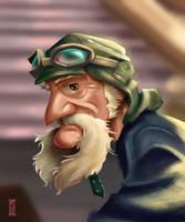 Old Man Steampunk by RCoffee