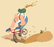 The Cyclist by RCoffee