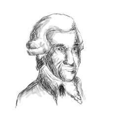 Franz Joseph Haydn by Stalacyn