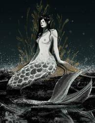 day 5 mermaid by RianaG