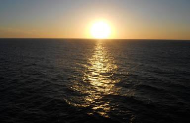 Sunset by Azulcat