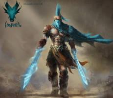 IZREL ( Dragon Hunter ) by SamMuk1R1