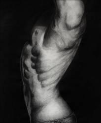 Male Torso by Rosaliee6