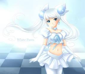 Chess - White Pawn by Hitana