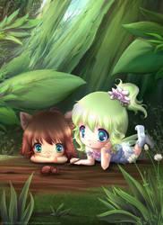 Forest wonders by Hitana