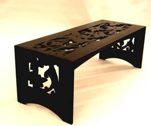 Continuous Dark Vine Table by mjbuben