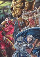 Blood Omen 2 - Enemies by chibi-j