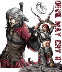 Hunters - Devil May Cry II by chibi-j