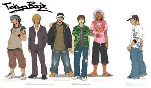 Tokyo Boiz- Group 1 by chibi-j