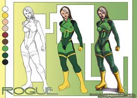 Rogue Character Sheet by chibi-j