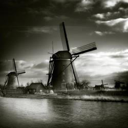 Kinderdijk II... by Kaarmen