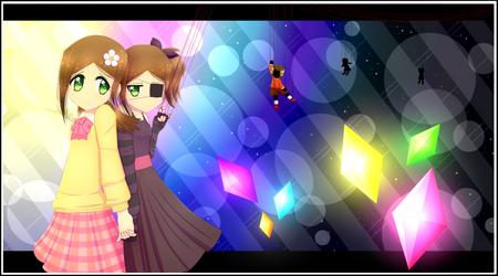 MySims AU: Clara and Clara by SimsValeria