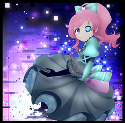 Kiratto Pri Chan: Mirai Glitch by SimsValeria