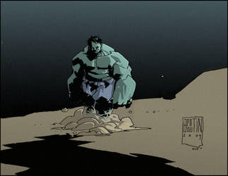 Hulk_by_mcwolfprime by wolfprime