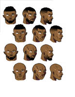 Omega Man hair choices by wolfprime