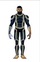 Tech suit by wolfprime