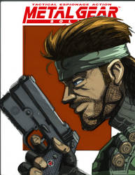 MGS Extra credit color by wolfprime