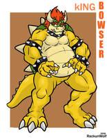 King bowser by Rackun