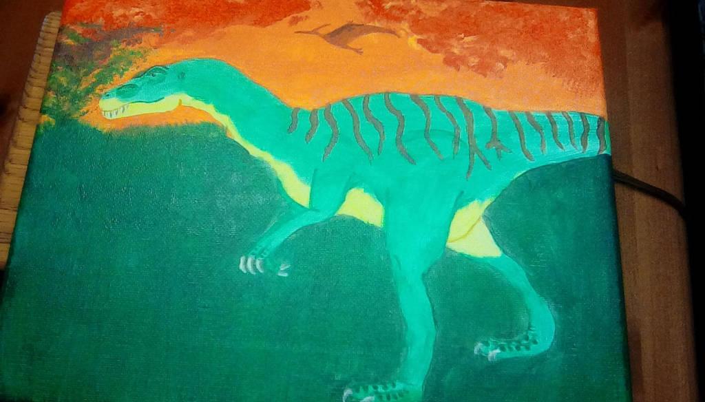 Allosaurus by TheCrowAtMidnight