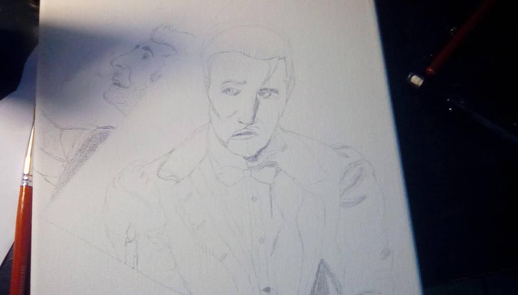 Ben Crawford Phantom and Hugh Jackman Barnum by TheCrowAtMidnight