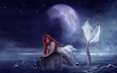 Mermaid darkness by VanessaPadua