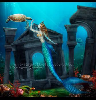 Mermaid ll by VanessaPadua