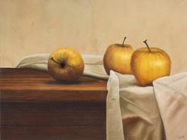 Yellow apples by carlosmonteiro